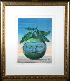"""""""Souvenir de Voyage (Memory of a Journey),"""" Color Lithograph after Rene Magritte"""