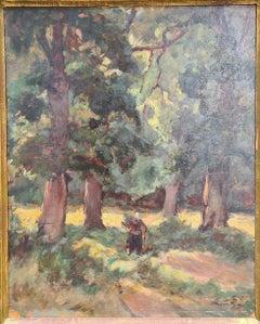 Barbizon School, Sous Bois à la Gateaudière à Marennes