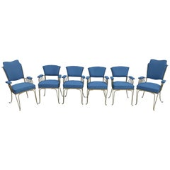 Rene Prou Set of Armchairs