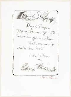 David Shapiro: Rene Ricard vintage poetry