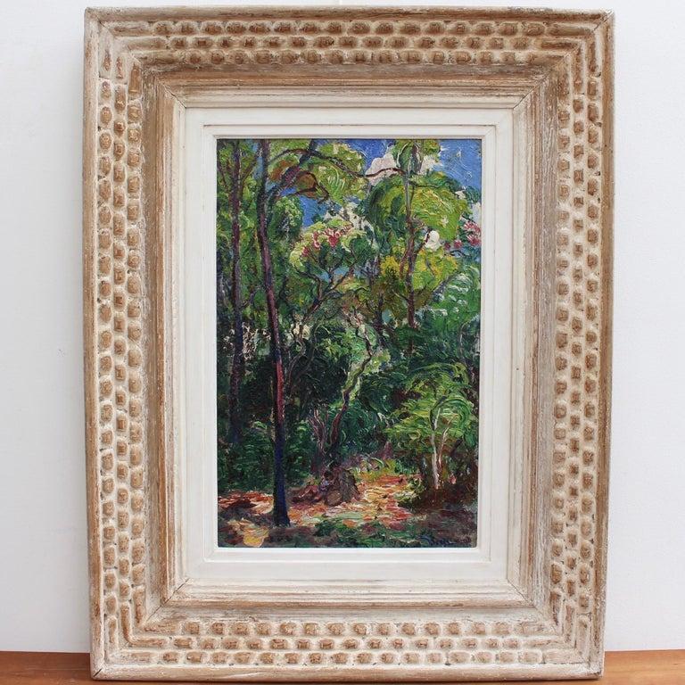 René Seyssaud Portrait Painting - Landscape: One with Nature