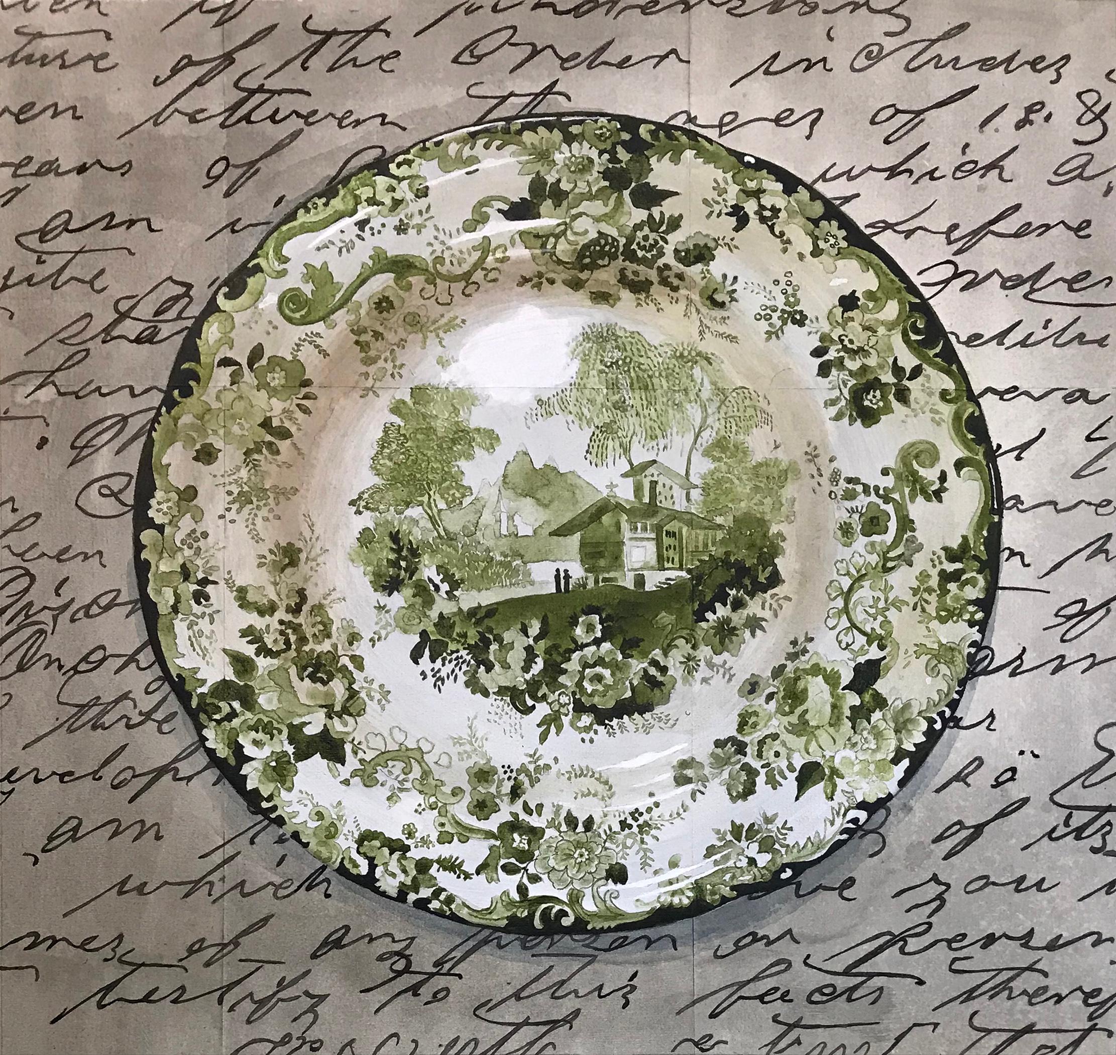 Dinner Plate Dark Green