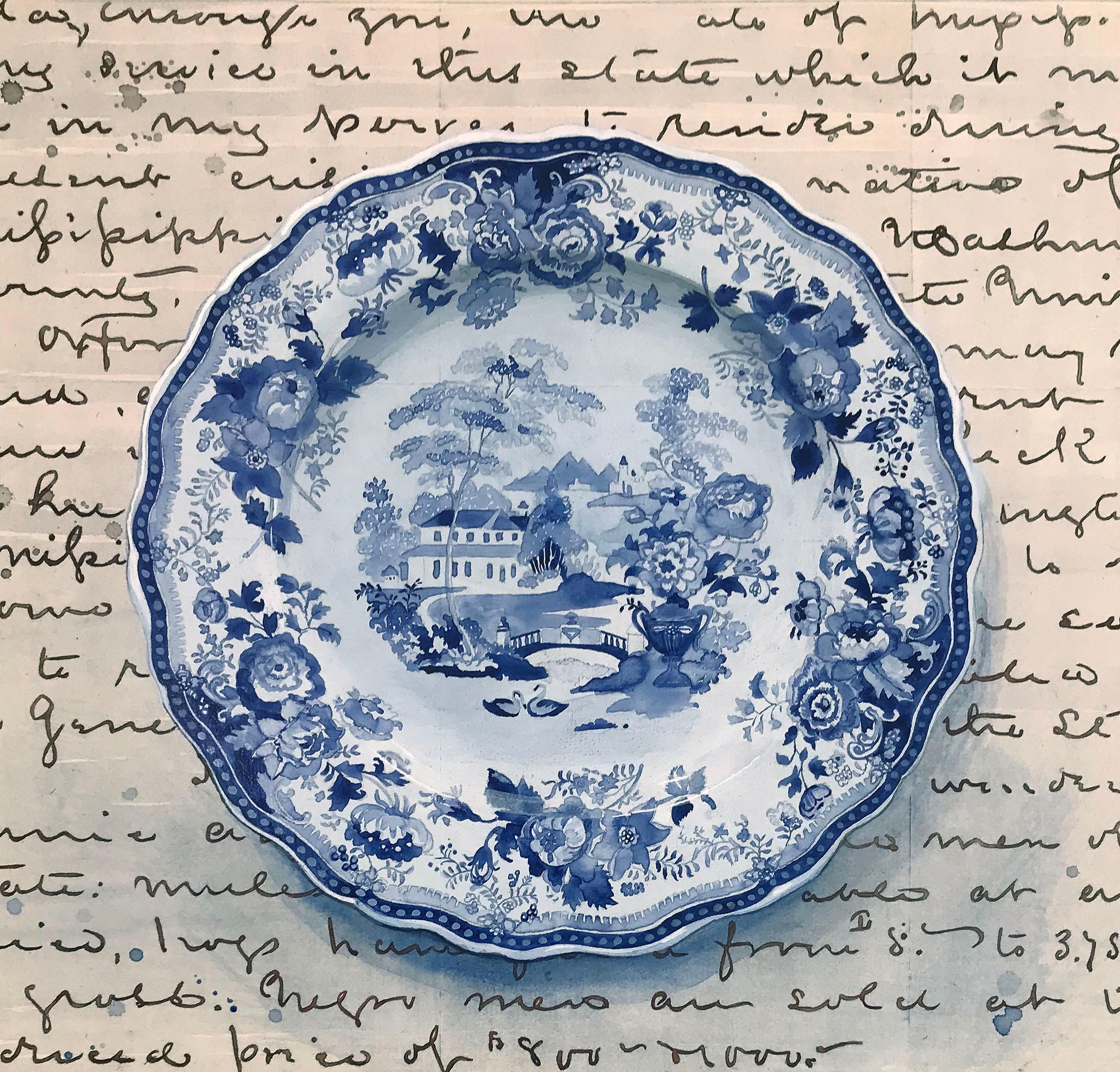 Dinner Plate Navy