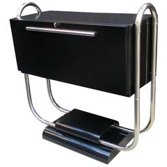 Reneé Herbst Art Deco Double Sided Bar Cabinet