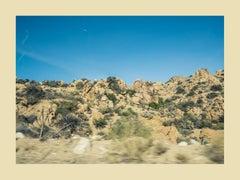 Joshua Tree - rocky desert photograph near Palm Springs California (30 x 40)