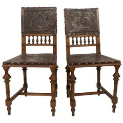 Renaissance Revival Chairs, 1890s