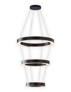 RENG, Anelli, Modernist Suspension 3-Ring LED Light