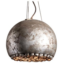 RENG, Island, Artisanal Italian Organic Inspired Ceramic Hanging Light
