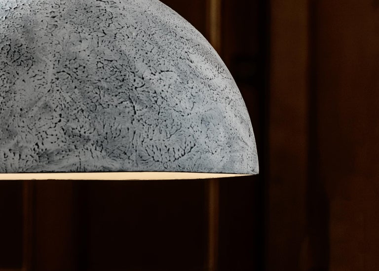 Reng, Doma, hand formed ceramic pendant light.