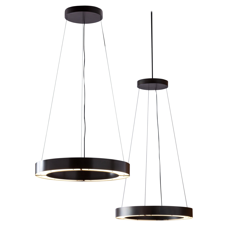 RENG, Hilo I, Modernist Suspension Light Ring LED Light