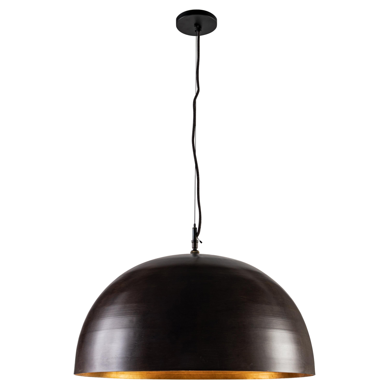 RENG, Kani, Forged Steel, Modern Dome Shop Light