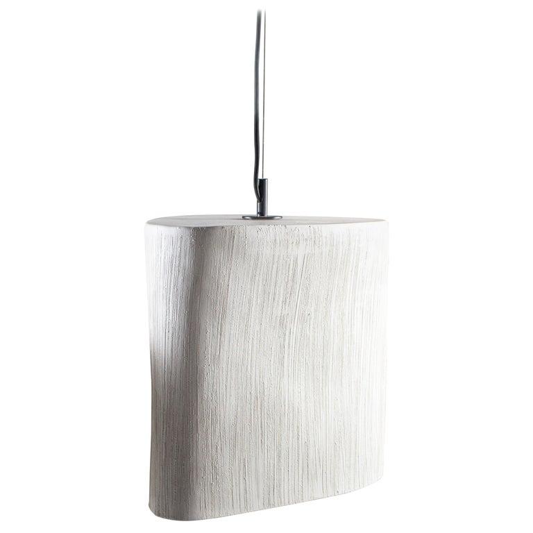RENG, Kaze, Hand Formed Ceramic Pendant Light For Sale