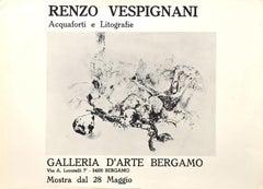 Renzo Vespignani Vintage Poster Exhibition - 1971