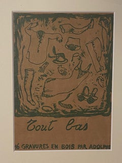 Tout Bas Cover - Original Lithograph by Renzo Vespignani - 1971