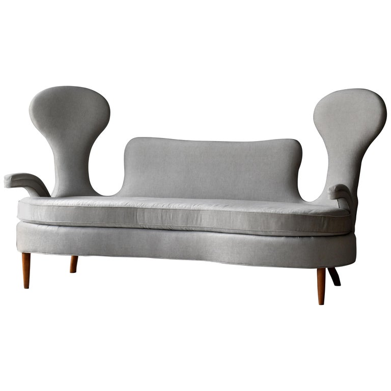 Renzo Zavanella sofa from Hotel San Remo, 1950, offered by Ponce Berga