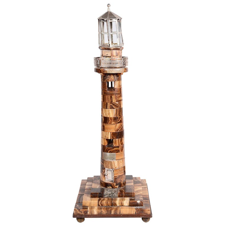 Replica of Europa Light House, Gibraltar, 19th Century For Sale