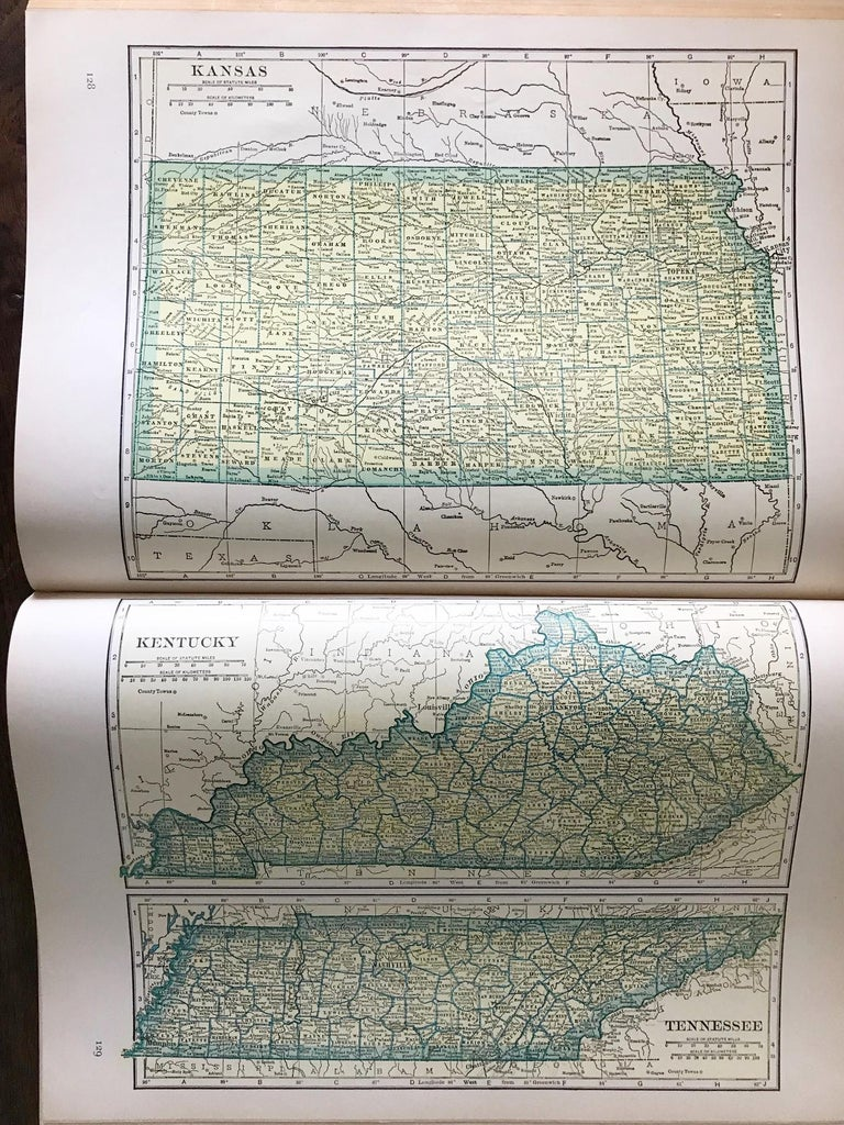 Replogle Library Globe Plus Replogle Illustrated Atlas, Late 1930s For Sale 10