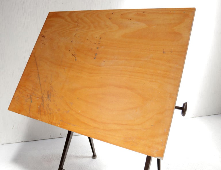 Reply Architect Drafting Table Friso Kramer, Wim Rietveld Ahrend Cirkel, 1959 For Sale 3