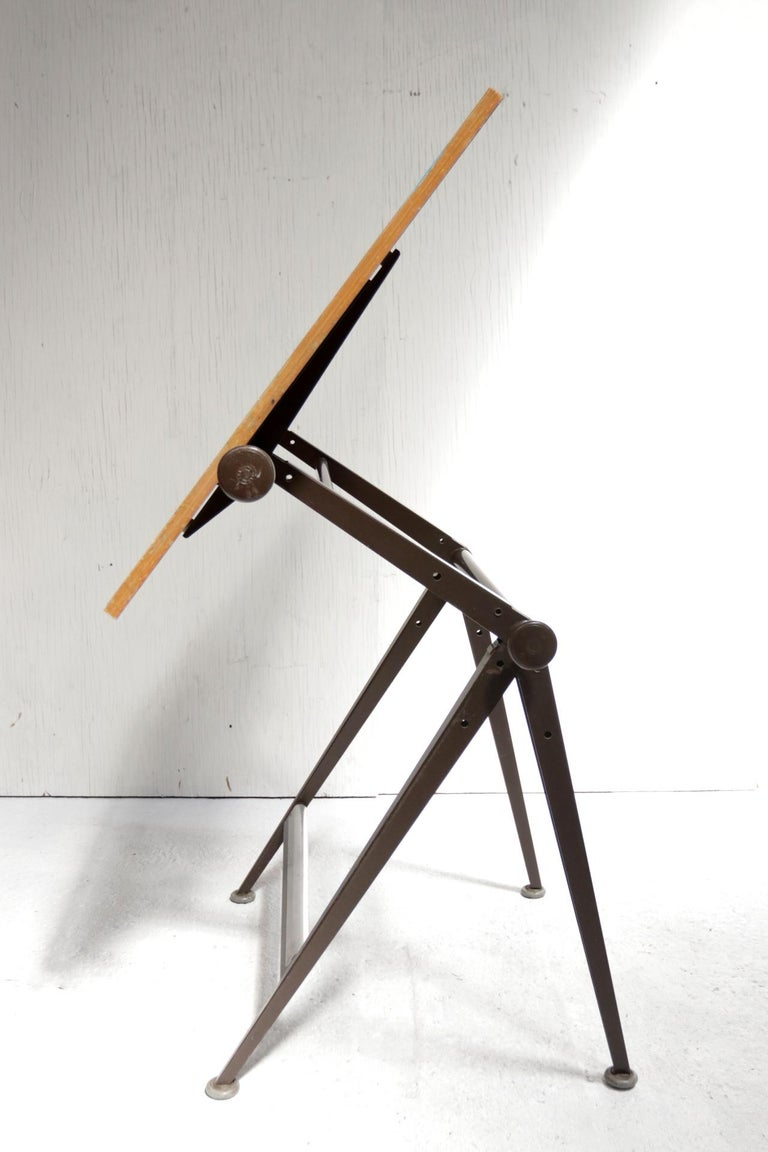 Reply Architect Drafting Table Friso Kramer, Wim Rietveld Ahrend Cirkel, 1959 For Sale 5