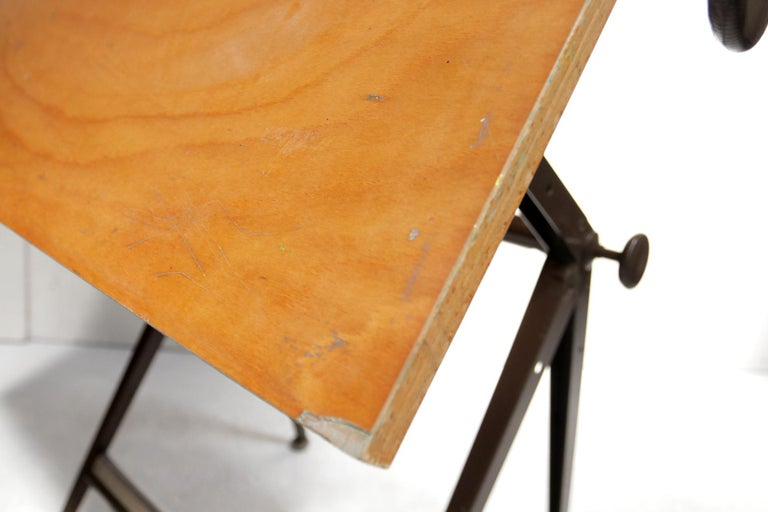 Reply Architect Drafting Table Friso Kramer, Wim Rietveld Ahrend Cirkel, 1959 For Sale 7