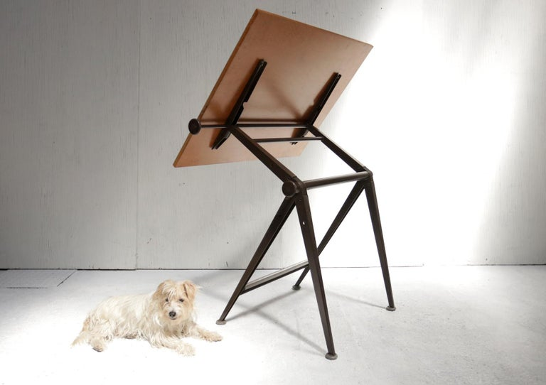 Reply Architect Drafting Table Friso Kramer, Wim Rietveld Ahrend Cirkel, 1959 For Sale 8