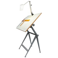 Reply Architect Drafting Table Friso Kramer Wim Rietveld Ahrend Cirkel and Extra