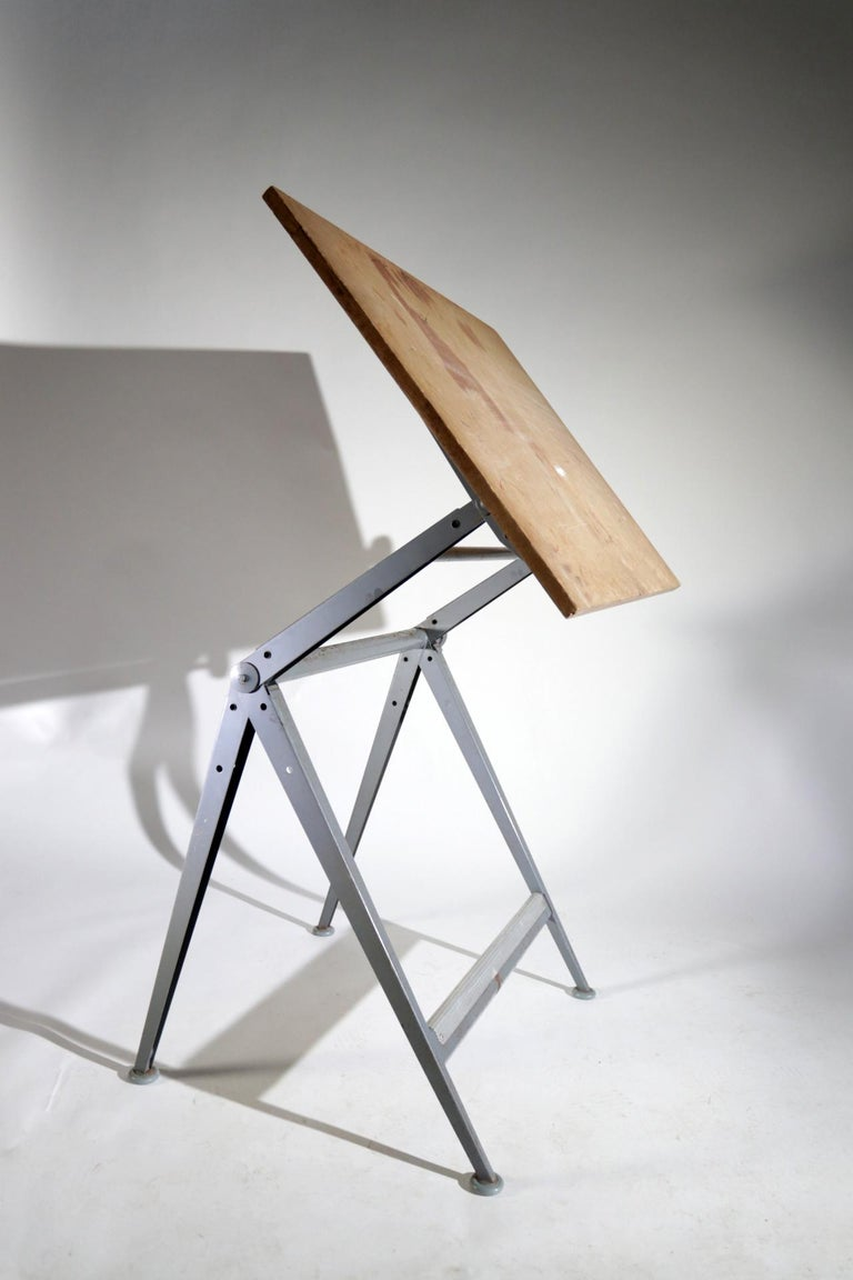 Reply Architect Drawing Table Friso Kramer, Wim Rietveld Ahrend de Cirkel, 1959 For Sale 3