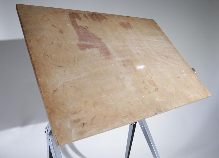 Reply Architect Drawing Table Friso Kramer, Wim Rietveld Ahrend de Cirkel, 1959 For Sale 4