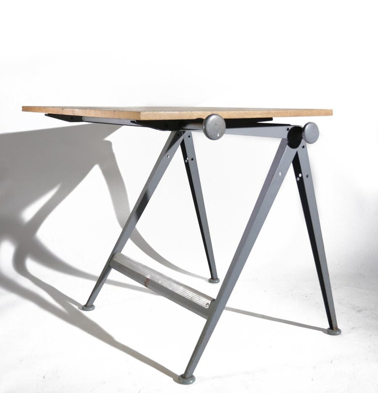 Reply Architect Drawing Table Friso Kramer, Wim Rietveld Ahrend de Cirkel, 1959 For Sale 7