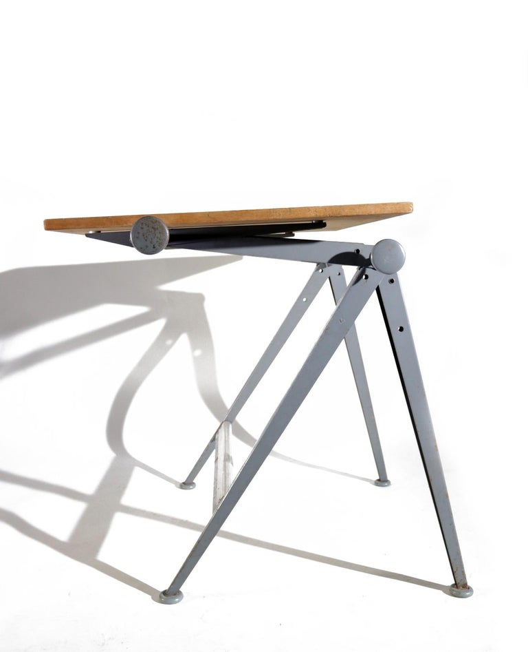 Reply Architect Drawing Table Friso Kramer, Wim Rietveld Ahrend de Cirkel, 1959 For Sale 8