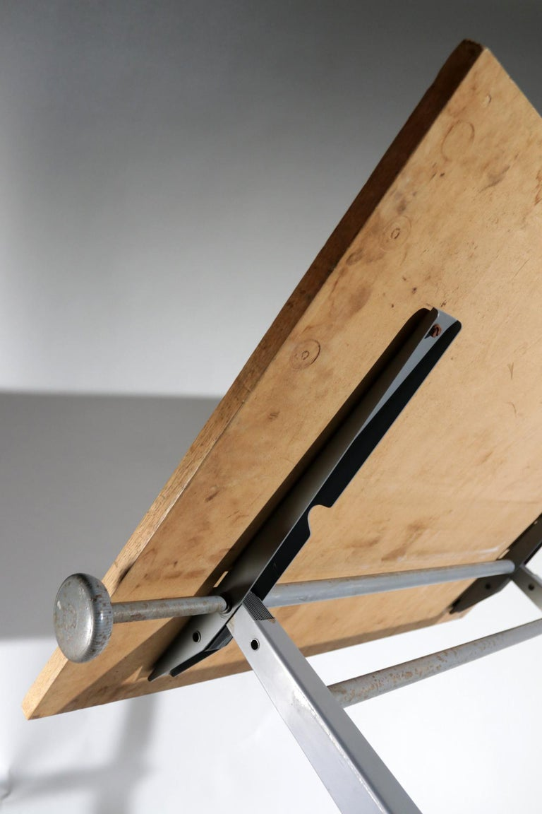 Reply Architect Drawing Table Friso Kramer, Wim Rietveld Ahrend de Cirkel, 1959 For Sale 1