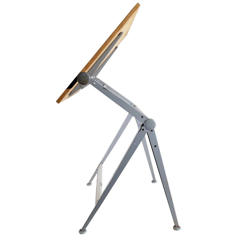 Reply Architect Drawing Table Friso Kramer, Wim Rietveld Ahrend de Cirkel, 1959 For Sale
