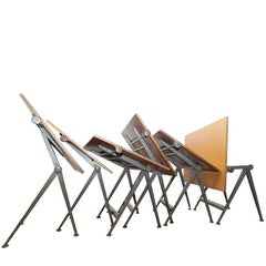 """Reply"" Drafting Table by Friso Kramer & Wim Rietveld, Ahrend de Cirkel,1963"