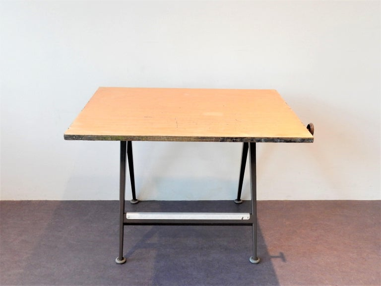 Mid-Century Modern 'Reply' Drafting Table by Friso Kramer and Wim Rietveld for Ahrend, 5 Available For Sale