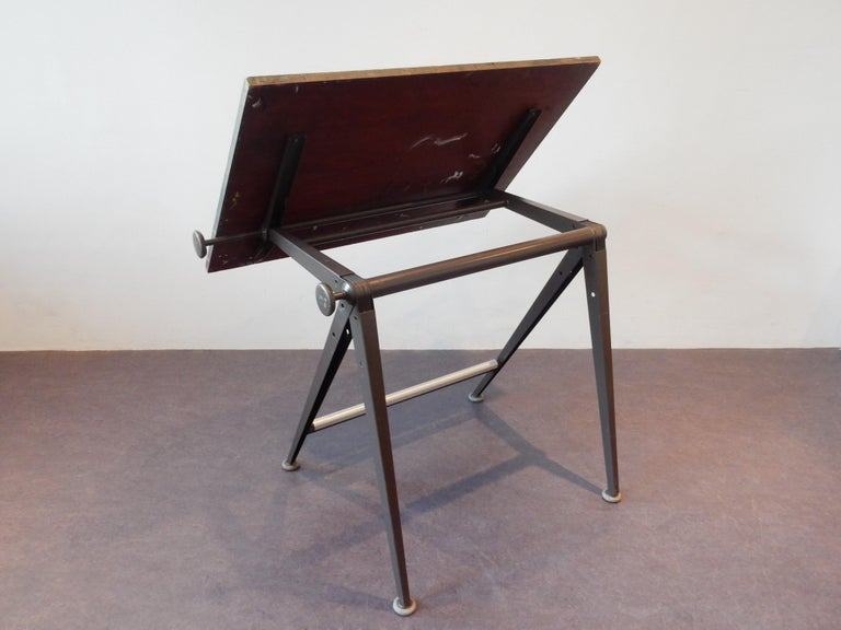 Dutch 'Reply' Drafting Table by Friso Kramer and Wim Rietveld for Ahrend, 5 Available For Sale