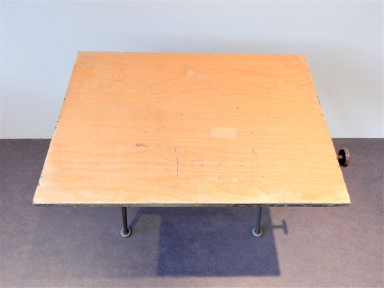 'Reply' Drafting Table by Friso Kramer and Wim Rietveld for Ahrend, 5 Available In Good Condition For Sale In Steenwijk, NL