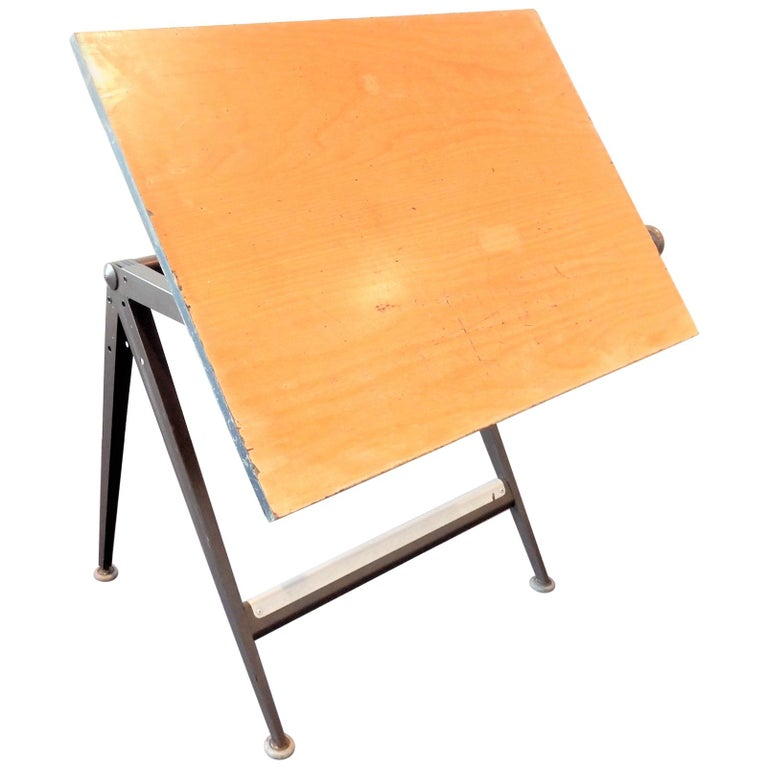 'Reply' Drafting Table by Friso Kramer and Wim Rietveld for Ahrend, 5 Available For Sale