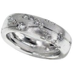 Repossi Astrum Taurus Diamonds 18 Karat White Gold Ring S