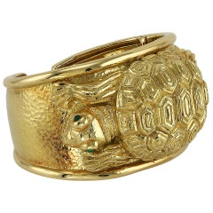 Repousse Tortoise Cuff by David Webb
