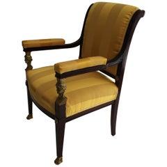 Representative Empire Armchair, circa 1800