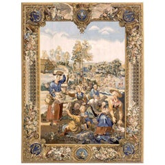 Reproduction 17th Century Flemish Tapestry