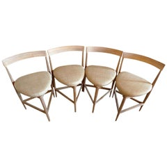 Reproduction Danish 1940s Style Side Chairs Made to Order