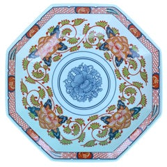 """Reproduction of circa 1825 Japanese Porcelain """"Peony"""" Collection, Georges Briard"""