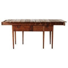 Repurposed Primitive Style Wooden Gardening Table