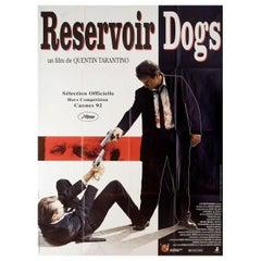 """Reservoir Dogs"" 1992 French Grande Film Poster"