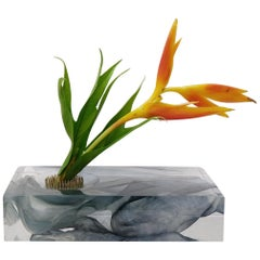 Resin Cast Vase Sculpture Limited Edition with Kaarem, 1st Dibs New York
