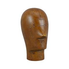 Resin Mannequin Display Head, Vintage Style