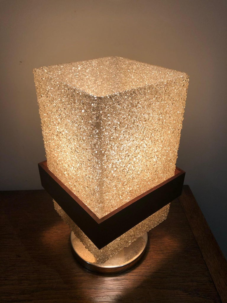 20th Century Resin Table Lamp For Sale