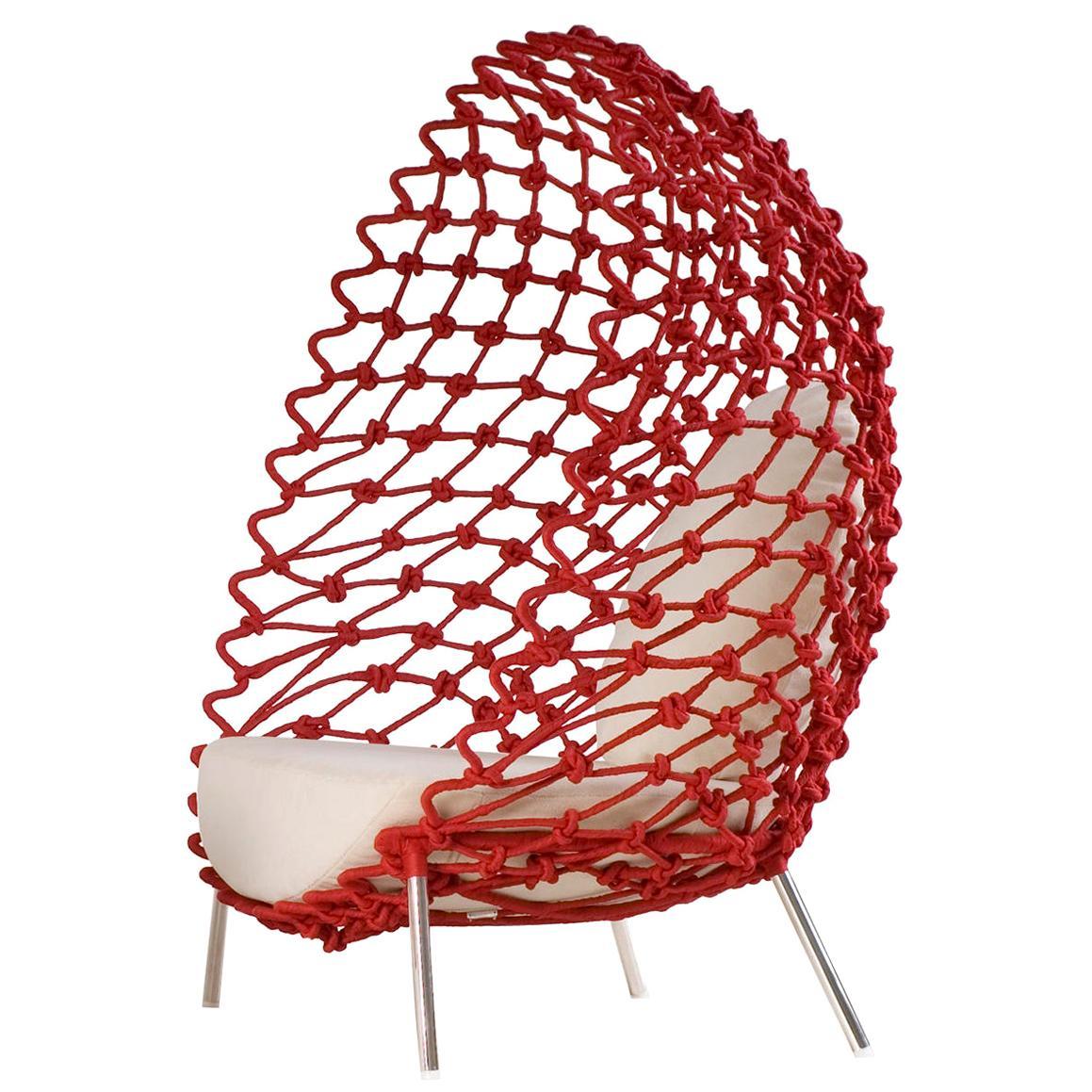 Rest Red Armchair Outdoor-Indoor