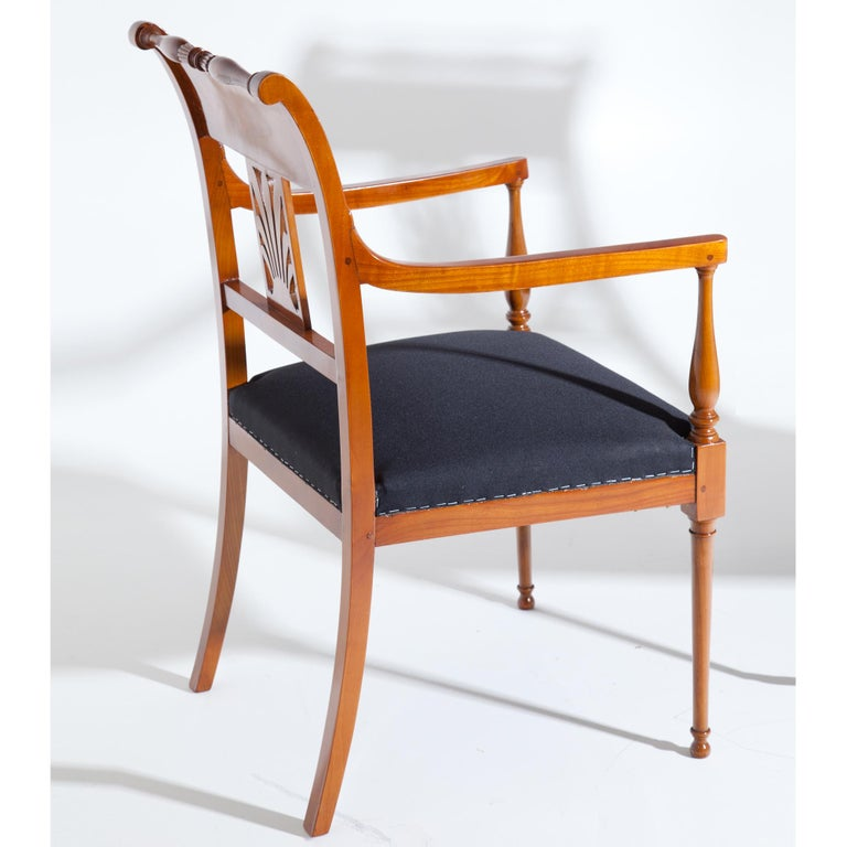 Restauration Armchairs, France 19th Century For Sale 1